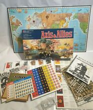 axis allies board game axis allies mb 1981 unused on
