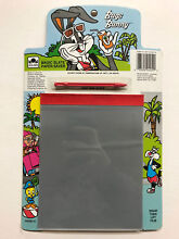 magic slate bugs bunny paper saver toy 1987