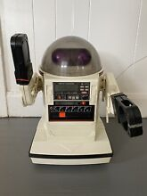 omnibot 5402 1984 tomy robot rc tape player