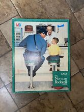 norman rockwell puzzle norman rockwell s runway puzzle