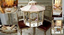 carousel doll display french gorgeous merry