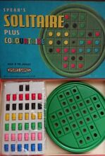 spears game s solitaire plus colourtaire 1970
