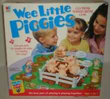 wee little piggies 2001 electronic board game