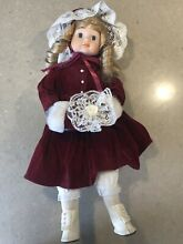 china doll collectors porcelain 17 blue eyes