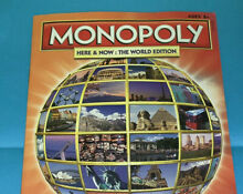 monopoly here now world edition replacement