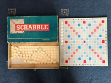 scrabble board game 1960 s by spears 2 4