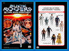 buck rogers custom reproduction card back for 3
