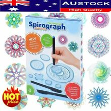 spirograph 27x tin draw drawing art original