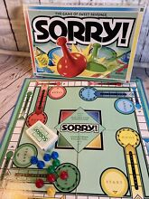 sorry game rare 1998 sorry board game parker