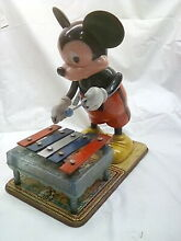 linemar rare 1950s marx micky mouse playing