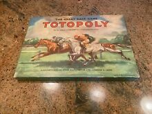 waddingtons totopoly horse racing boxed