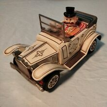 alps litho tin battery operated car a