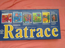 waddingtons ratrace 1973 board board game 100 complete