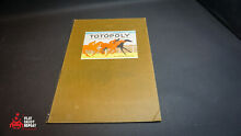 waddingtons totopoly spare game board 1978