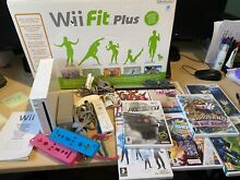wii fit nintendo wii bundle board 8 other