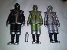dr who doctor who classic 5 figures robots