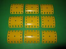 1970 meccano curved plates 200 x 9 s