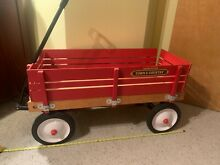 radio flyer wagon radio flyer town country wooden
