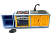 kitchen playmobil stove sink side counter