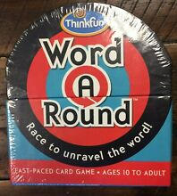 thinkfun word a round race to unravel word