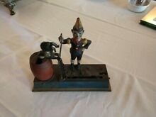 hubley 1920s painted cast iron trick dog