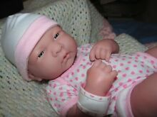 berenguer realistic 14 baby girl in pink doll