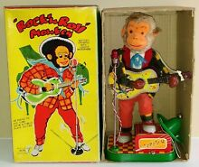 alps battery operated rock n roll monkey