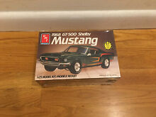 amt model kits amt 68 shelby gt 500 mustang 1 25
