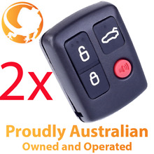 sy 2 x remote control for ford ba bf