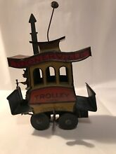 toonerville trolley 1922 tin wind up toy
