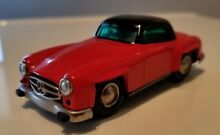 mint red black 1044 mercedes 190sl
