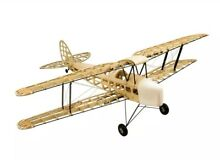 rc plane tiger moth 1400mm balsa kit