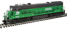 h0 gauge diesel ge u28c burlington