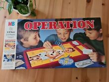 operation game 1995 mb games operation board game