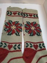 russ berrie co rustic knit eve flower christmas