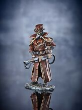 steampunk toy soldiers plague doctor hand