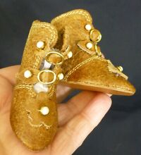 french doll 60mm tan leather french doll boots