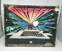magnavox odyssey 2 video game system console