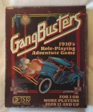 1920 gangbusters s role playing