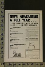 parris 1954 toy ad gun rifle weapon