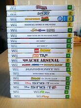 nintendo wii games pal select a title