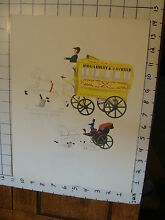 george brown 11 x 14 toy poster tin toy wagon
