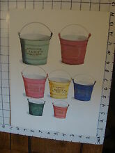 george brown 11 x 14 toy poster tin toy pails 23