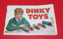 toy catalog dinky toys 1952 toy model catalogue