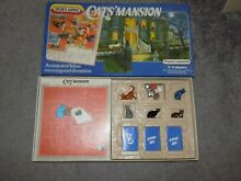 spears game cats mansion board game complete