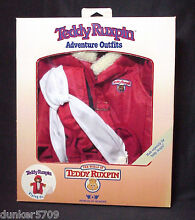 teddy ruxpin flying outfit in box worlds wonder