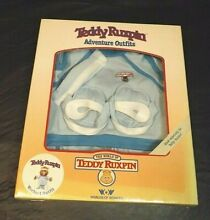 teddy ruxpin exercise workout outfit new in box
