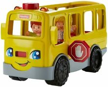 little people fisher price schulbus