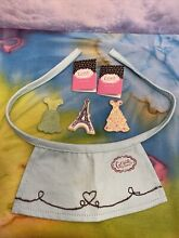 american girl doll htf accessories for grace apron