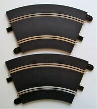scalextric 2 curved 1 32 slot car track
